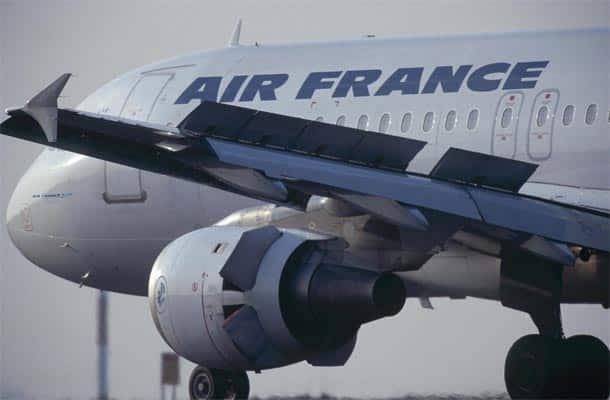 Air France 320 reverse