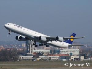 Airbus A340 Lufthansa