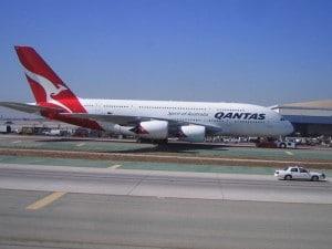 Qantas Airbus A380 © d_proffer