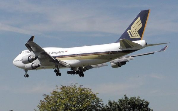 Boeing 747 Singapore Airlines