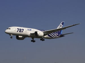 Boeing 787 de All Nippon Airlines