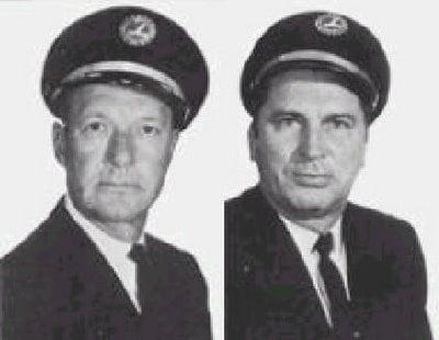 Loft et Repo, pilotes du vol 401