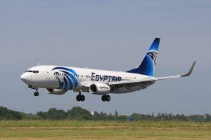 Boeing 737 Egyptair © DR