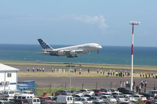 A380 - île de la Réunion