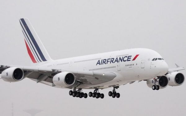 Paris – New-York en A380