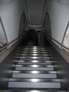 escalier A380