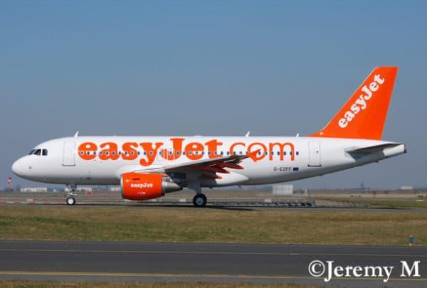 easyJet ouvre un vol Nice-Rome