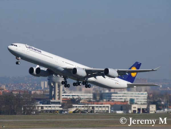 Lufthansa concurrence Air France