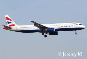 Airbus A321 Bristish Airways