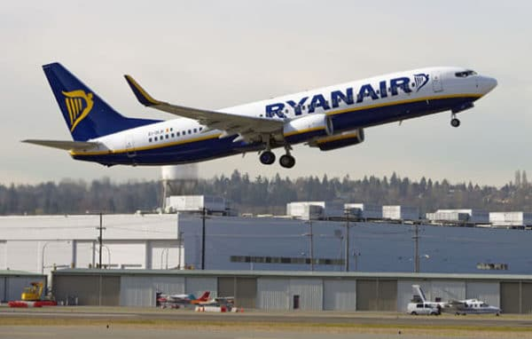 Ryanair, 500 000 passagers de plus !