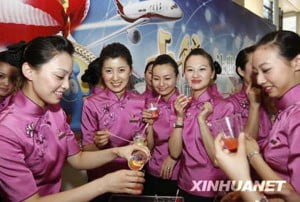 Hôtesses de l'air de Shanghai Airlines