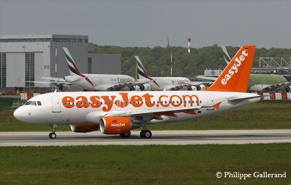 easyJet se developpe