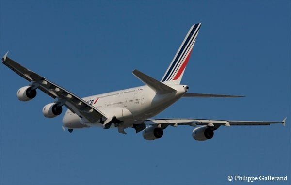 Airbus A380 Air France « short petrol »