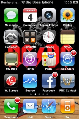 PNC Contact s'invite sur Iphone
