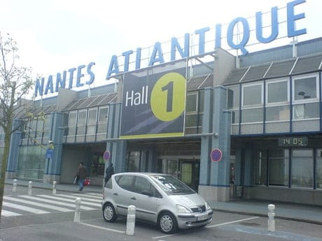 Nantes Atlantique vers l'Allemagne