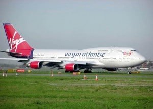 Boeing 747-400 Virgin Atlantic © DR