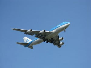 KLM Boeing 747 © Jean-Philippe Boulet