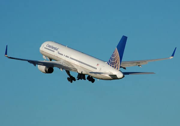 Boeing 757 Continental Airlines