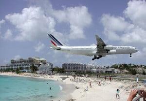 Air France a Saint Martin