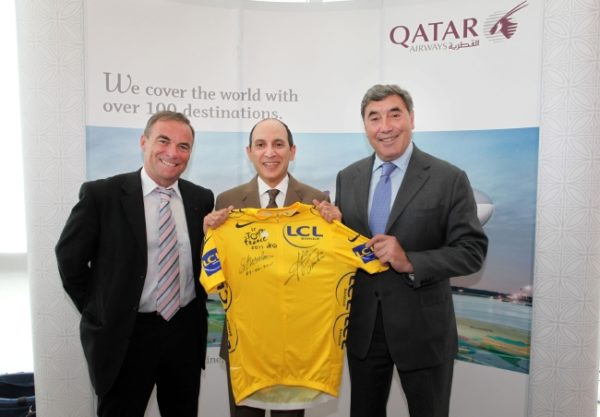 Qatar airways aime le tour de France