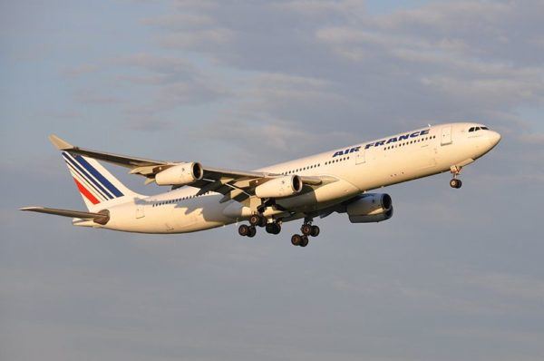Escale aux Acores pour Air France