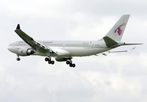 A330 de Qatar Airways