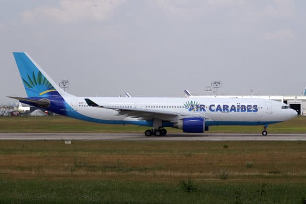 Incidents Airbus chez Air Caraibes