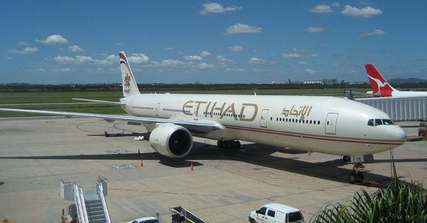 Etihad from inside