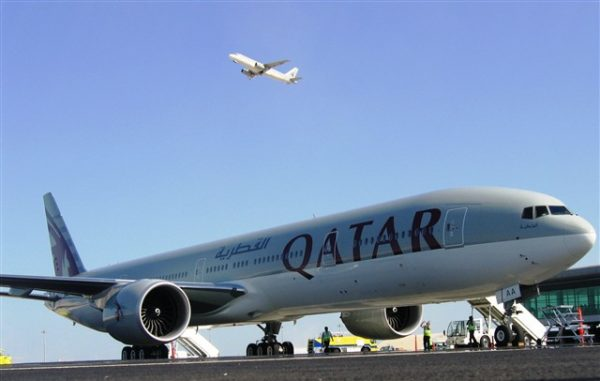 Boeing 777 de Qatar Airways
