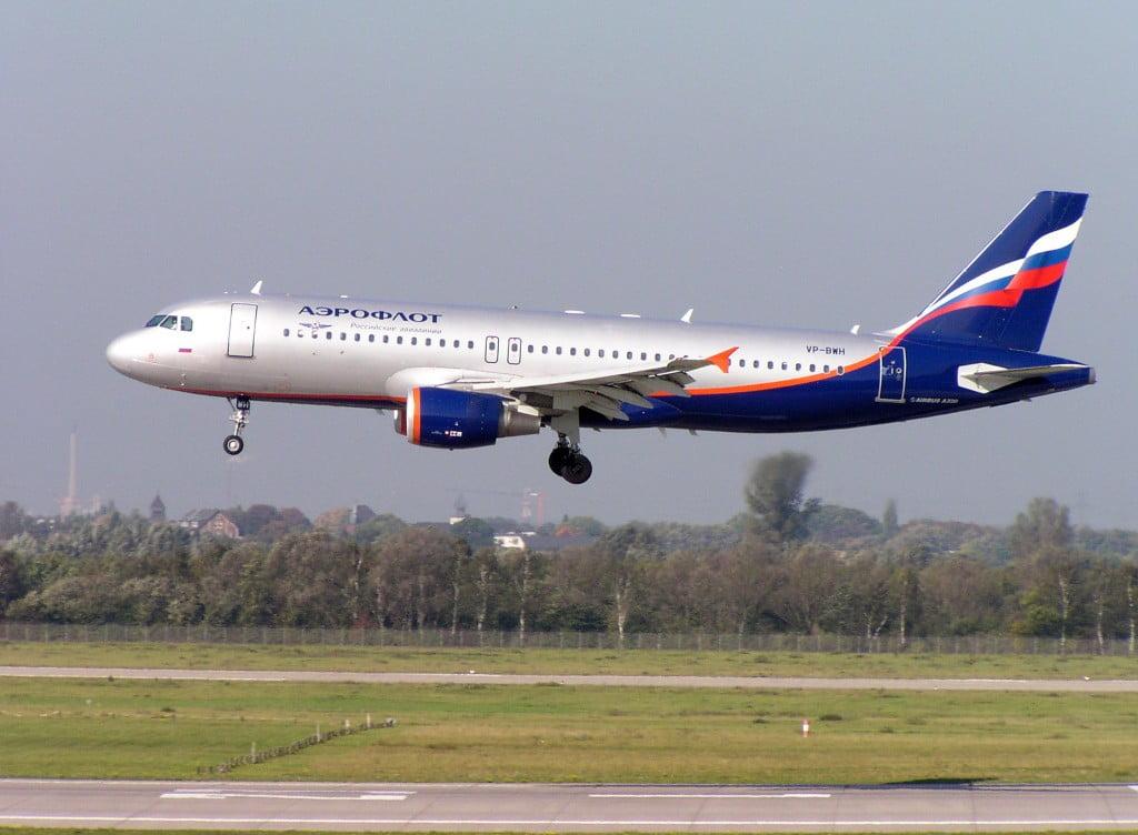 Aeroflot en hausse