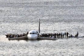 Préparation amerrissage