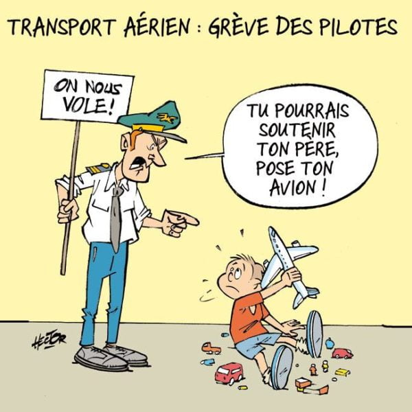 Air France, fin de la grève