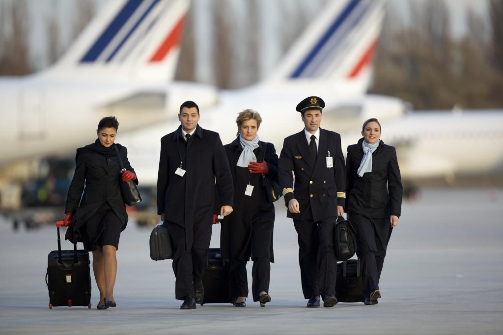 Air France, la dure vie de steward