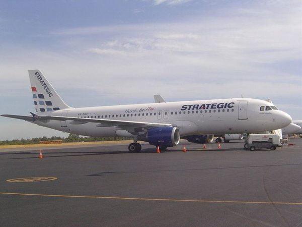 Strategic Airlines en redressement.