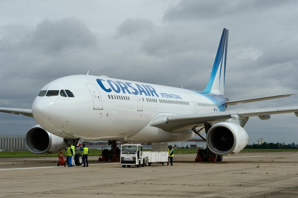 Nouvel avion pour Corsair