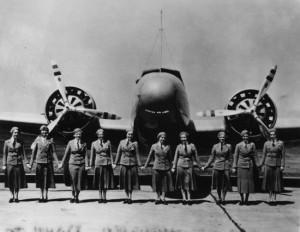 Hôtesses de l'air - Boeing 247 © Domaine Public