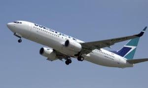 Boeing 737 WestJet © Domaine Public