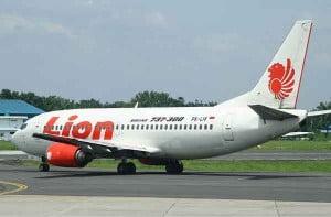 Lion Air Boeing 737-300 au roulage