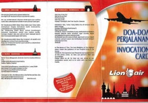 Prière chez Lion Air
