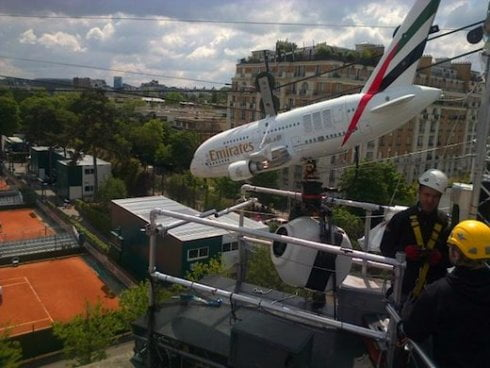 Emirates à Roland Garros