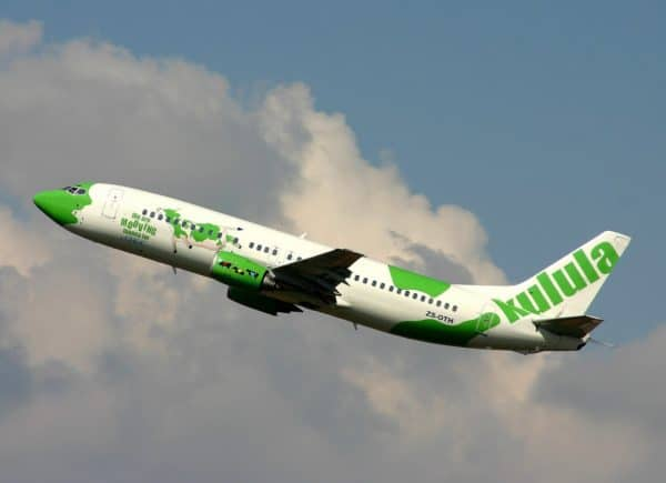 Avion de Kulula Airways