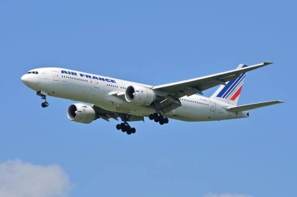 Boeing 777 Air France en vol