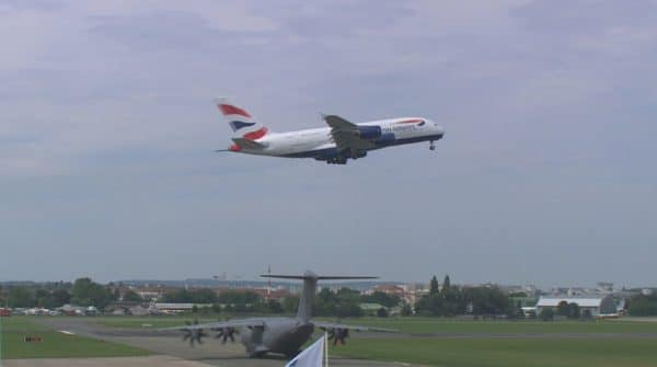 Airbus A380 British Airways au Bourget