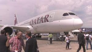 Qatar au Bourget en 2013