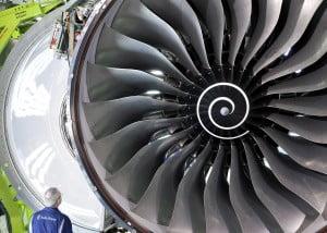 Moteur Rolls Royce XWB de l'A350