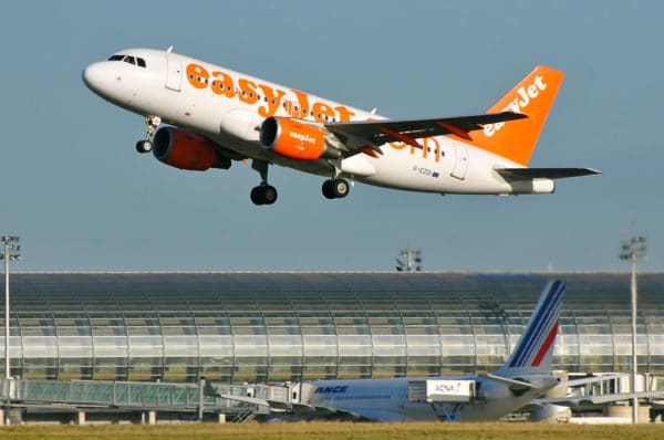 easyJet remercie Air France