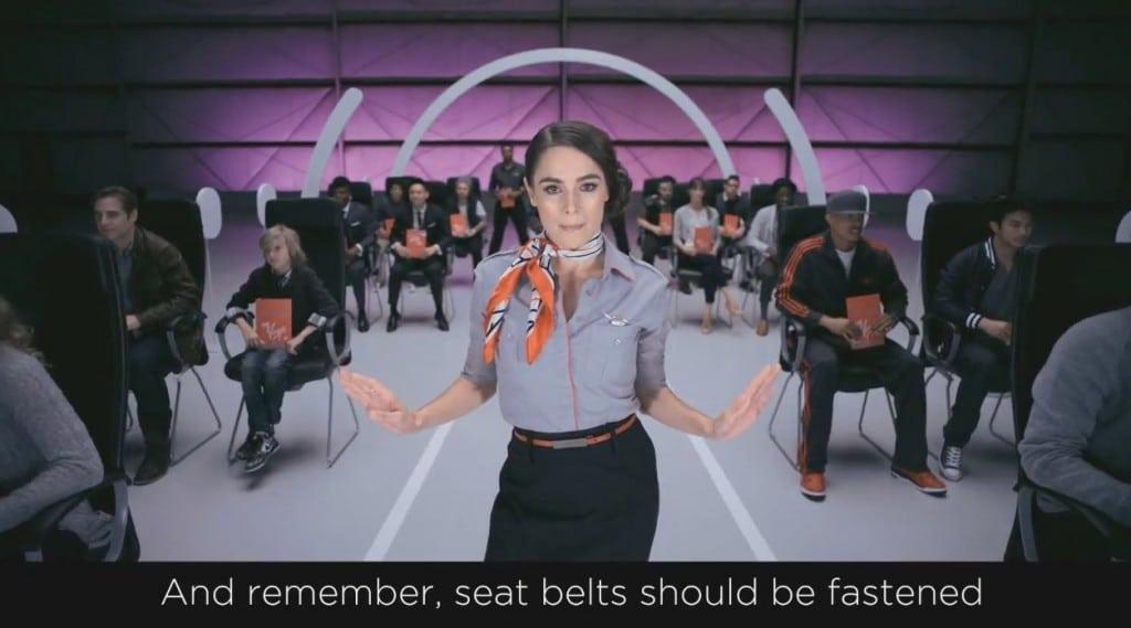 Virgin America et consignes de sécurité