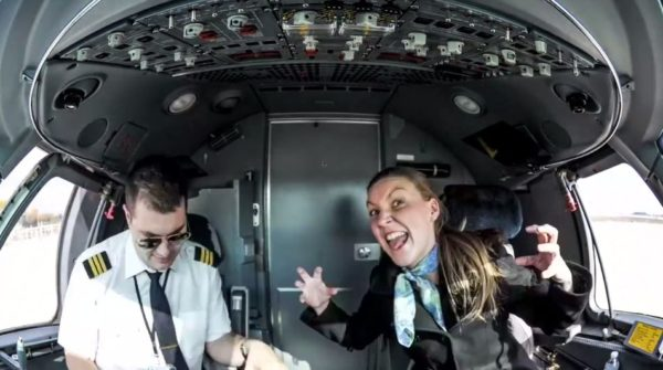 Timelaps en Embraer 145