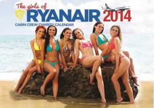 Calendrier Ryanair 2014 © Ryanair