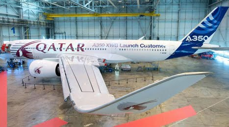 Airbus A350-900 et Qatar Airways